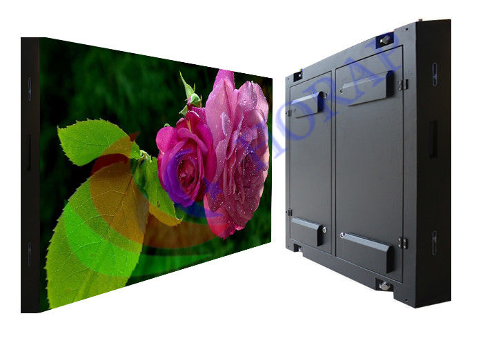 P4.8 High Flatness Outdoor Advertising LED Display SMD RGB 192 x 192mm