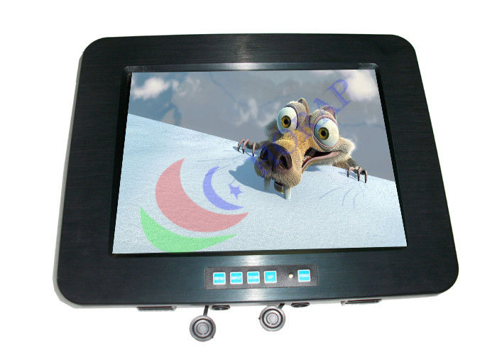 Widescreen Professional Marine LCD Monitor Full IP65 Waterproof High Brightness